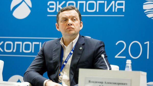Руководитель научно-методического центра Управление отходами и вторичными ресурсами при Минпромторге России Владимир Марьев - Sputnik Таджикистан