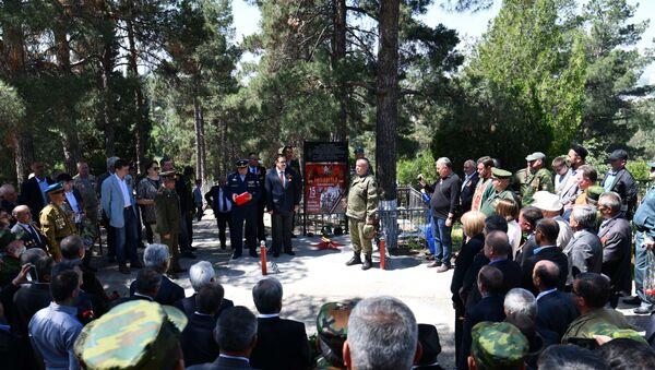 На православном кладбище Душанбе открылись Аллея Славы и Вечный огонь - Sputnik Таджикистан
