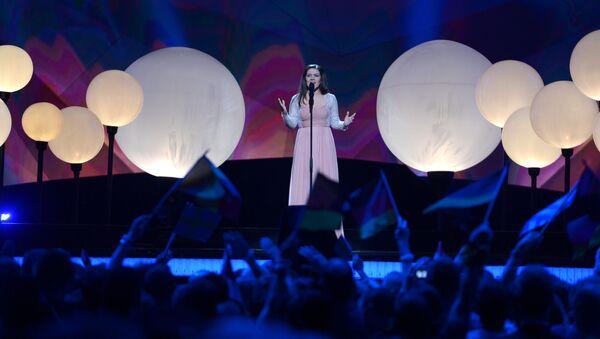 Певица Дина Гарипова в финале конкурса песни Евровидение-2013 - Sputnik Тоҷикистон