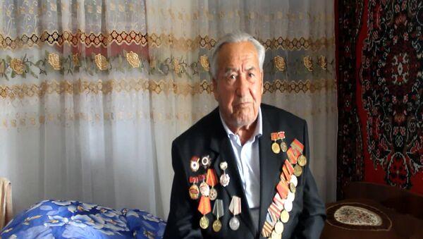Ветеран ВОВ в Душанбе - Sputnik Тоҷикистон