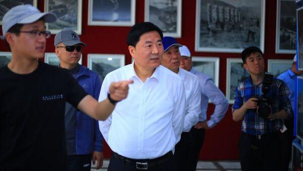 Делегация депортамента Тсзян Су Китая в Нуреке - Sputnik Тоҷикистон