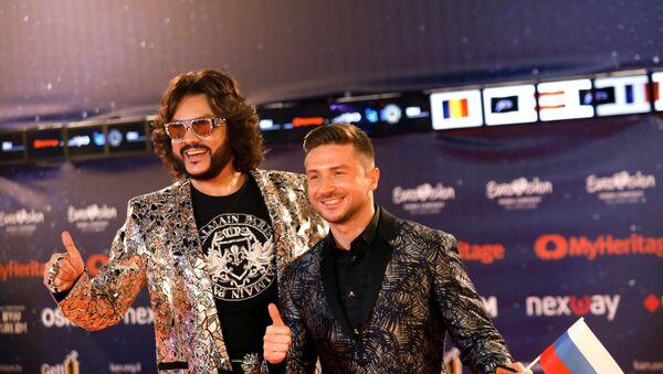 Киркоров и Лазарев на открытии Евровидения-2019 - Sputnik Таджикистан