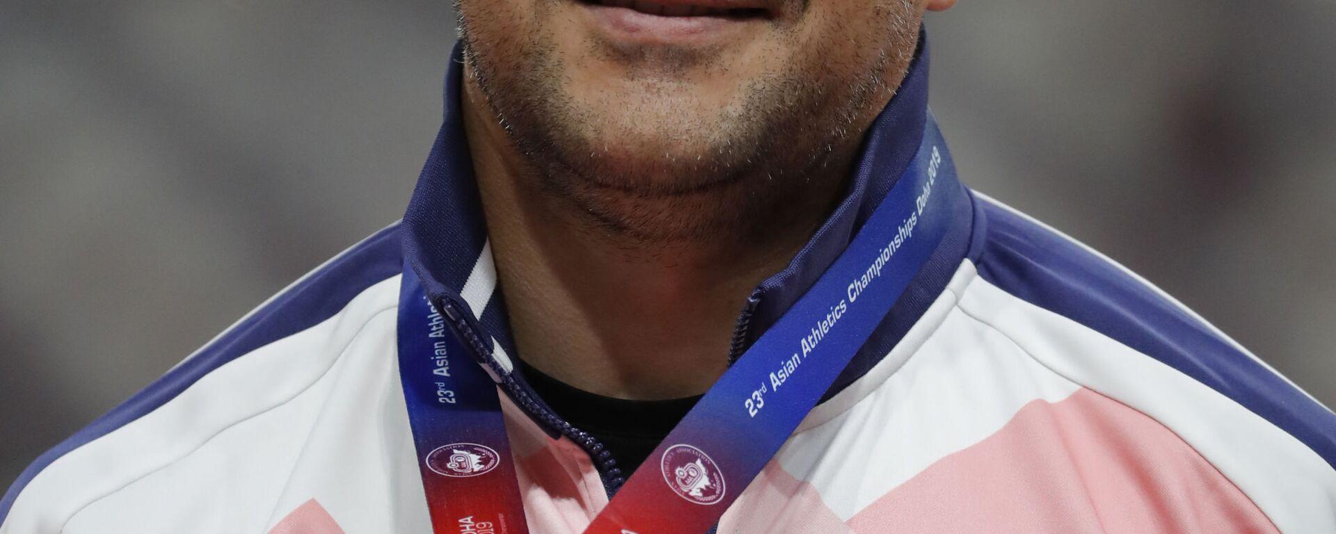 Дилшод Назаров из Таджикистана на чемпионате Азии по легкой атлетике в Дохе, Катар - Sputnik Тоҷикистон, 1920, 10.12.2019