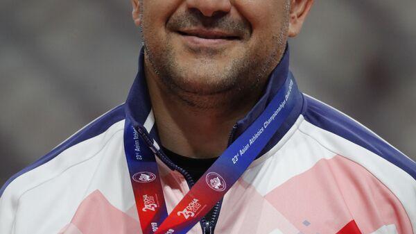 Дилшод Назаров из Таджикистана на чемпионате Азии по легкой атлетике в Дохе, Катар - Sputnik Тоҷикистон