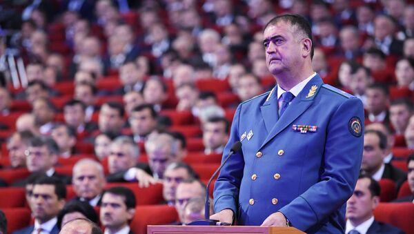 Глава таможенной службы Таджикистана Хуршед Каримзода - Sputnik Тоҷикистон