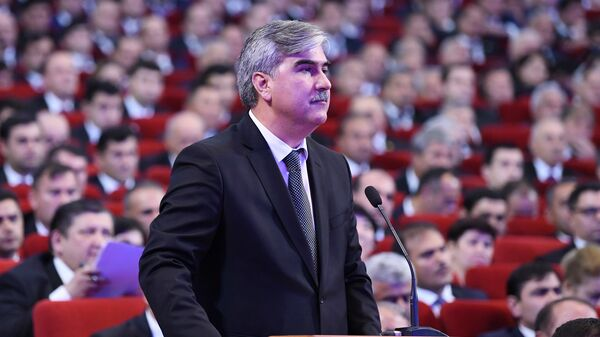 Министр финансов республики Таджикистан Файзиддин Каххорзода - Sputnik Тоҷикистон