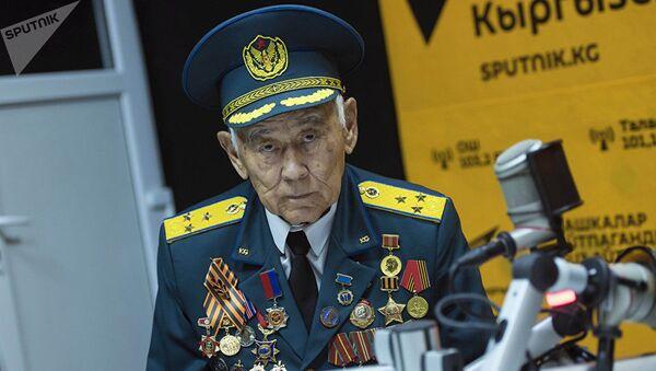 Ветеран афганской войны и ГКНБ КР Качкын Саргазаков - Sputnik Таджикистан