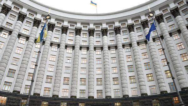 Здание правительства Украины в Киеве - Sputnik Таджикистан