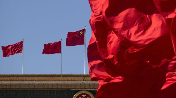 Национальный флаг Китая - Sputnik Тоҷикистон