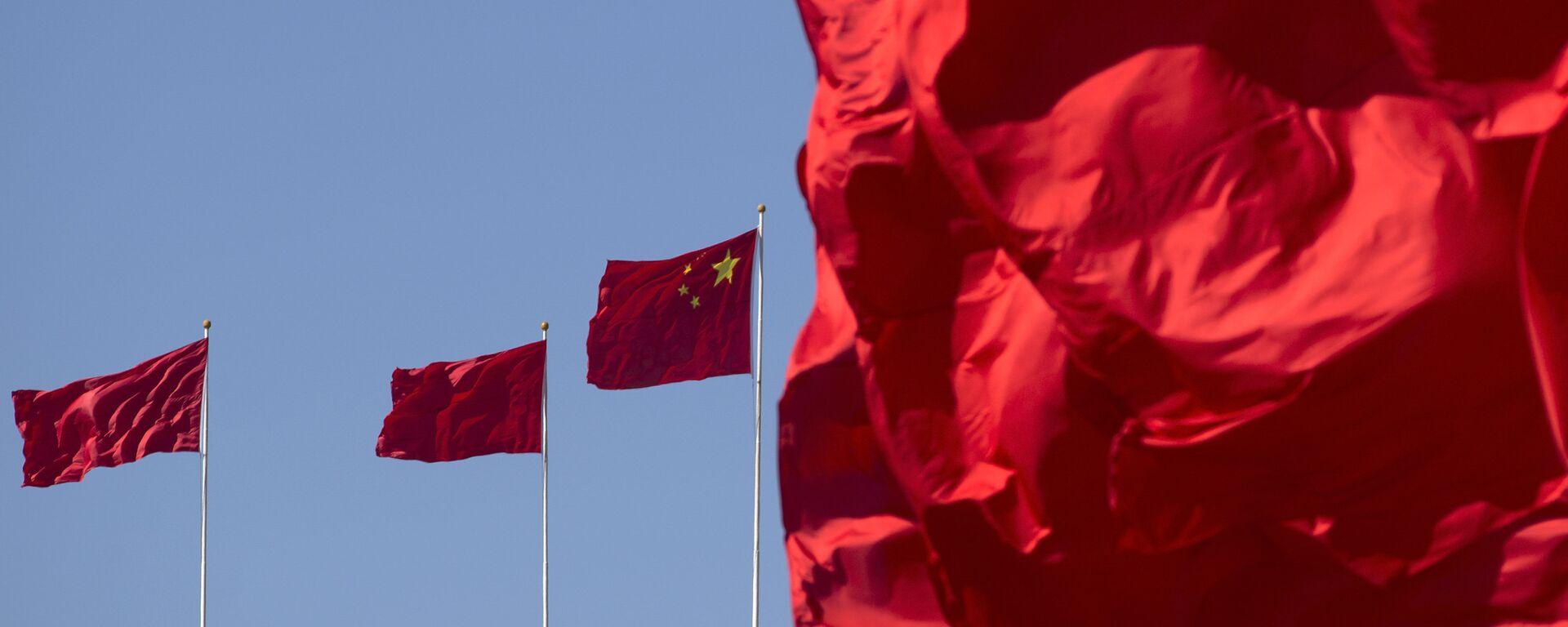 Национальный флаг Китая - Sputnik Таджикистан, 1920, 14.09.2021