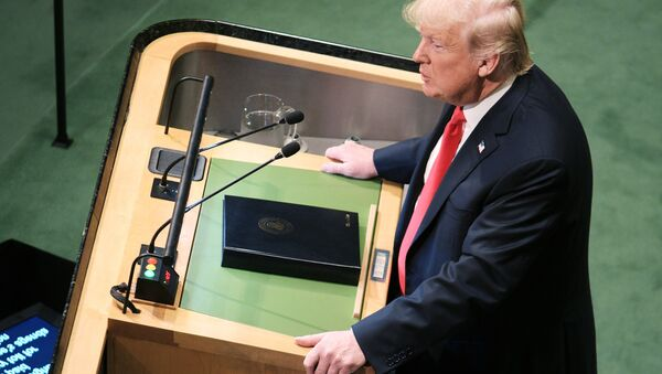 Президент США Дональд Трамп - Sputnik Таджикистан