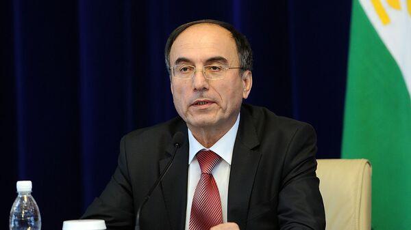 Заместитель премьер-министра Таджикистана Азим Иброхим, архивное фото - Sputnik Тоҷикистон
