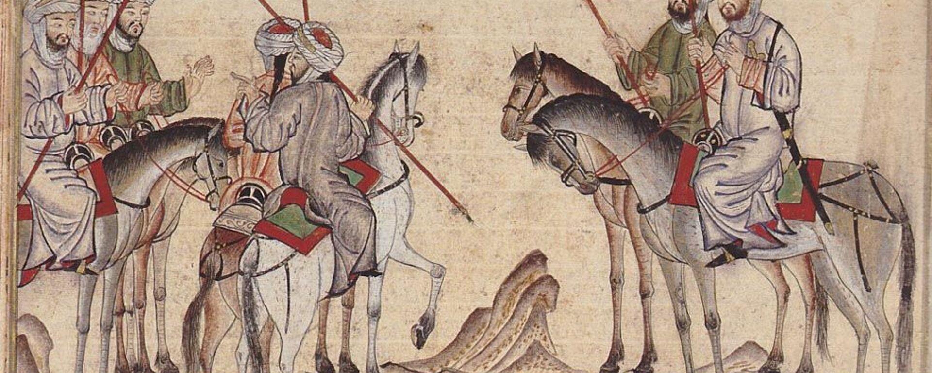 Изображение арабской конницы - Sputnik Таджикистан, 1920, 21.05.2019