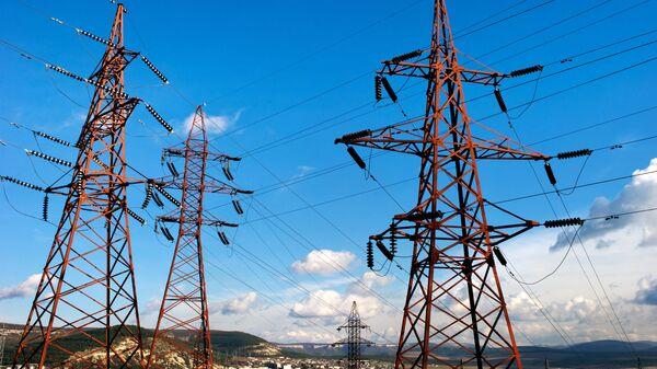 Линии электропередач, архивное фото - Sputnik Таджикистан