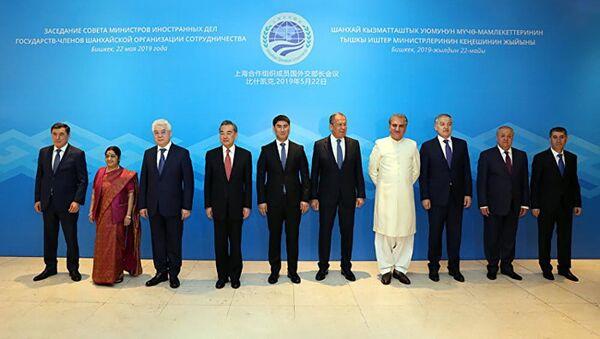 ВБишкеке состоялось заседание Совета министров иностранных дел государств-членов Шанхайской организации сотрудничества - Sputnik Таджикистан