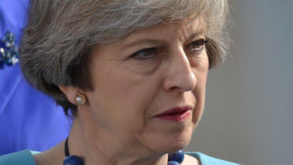 Премьер-министр Великобритании Тереза Мэй, архивное фото - Sputnik Таджикистан