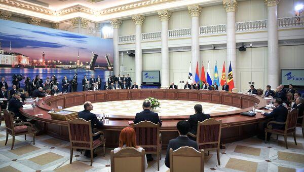 Заседание Высшего Евразийского экономического совета в расширенном составе - Sputnik Таджикистан