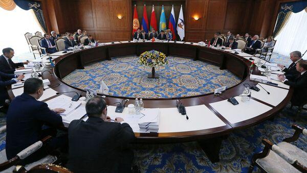 Заседание Евразийского межправительственного совета в узком составе - Sputnik Таджикистан