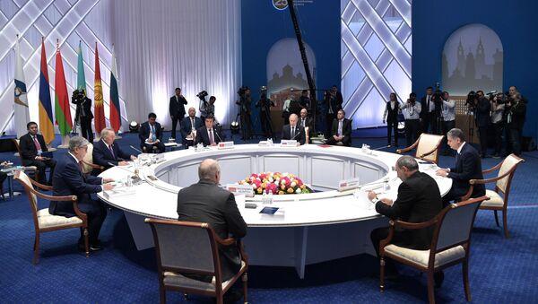 Заседание Высшего Евразийского экономического совета - Sputnik Таджикистан