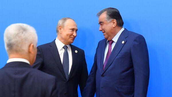 Президент РФ В. Путин принимает участие в заседании Высшего Евразийского экономического совета - Sputnik Тоҷикистон
