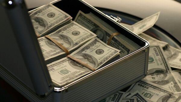 Чемодан с деньгами, архивное фото - Sputnik Таджикистан