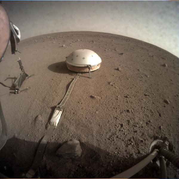 Бур HP3, установленный на поверхности Марса - Sputnik Таджикистан