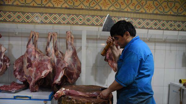 Торговля на рынке Мехргон - Sputnik Таджикистан