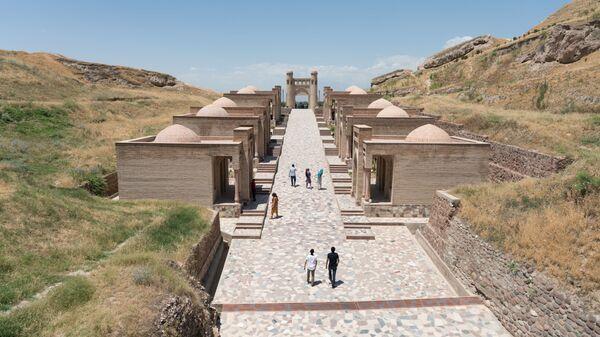 Гиссарская крепость, архивное фото  - Sputnik Таджикистан