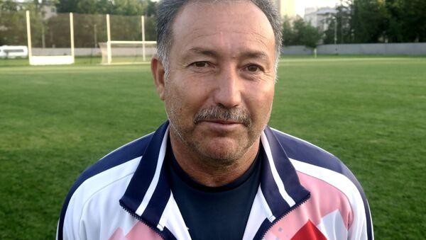 Главный тренер сборной Таджикистана Зайнидин Рахимов - Sputnik Таджикистан