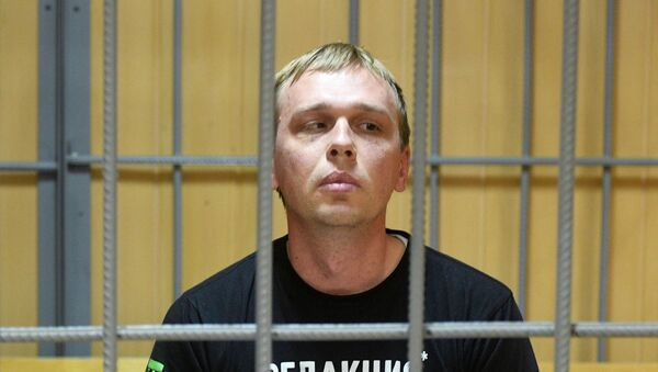 Журналист интернет-издания Медуза Иван Голунов - Sputnik Таджикистан
