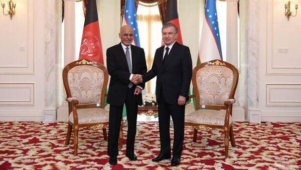 Состоялась встреча президентов Узбекистана и Афганистана - Sputnik Таджикистан