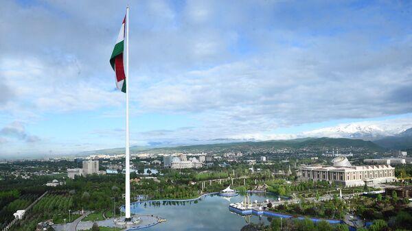 Город Душанбе сверху - Sputnik Таджикистан