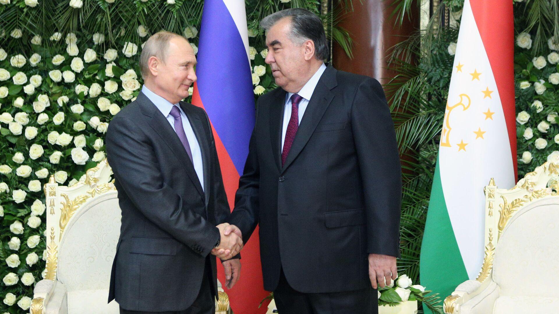 Рабочий визит президента РФ В. Путина в Таджикистан для участия в СВМДА - Sputnik Таджикистан, 1920, 16.09.2021