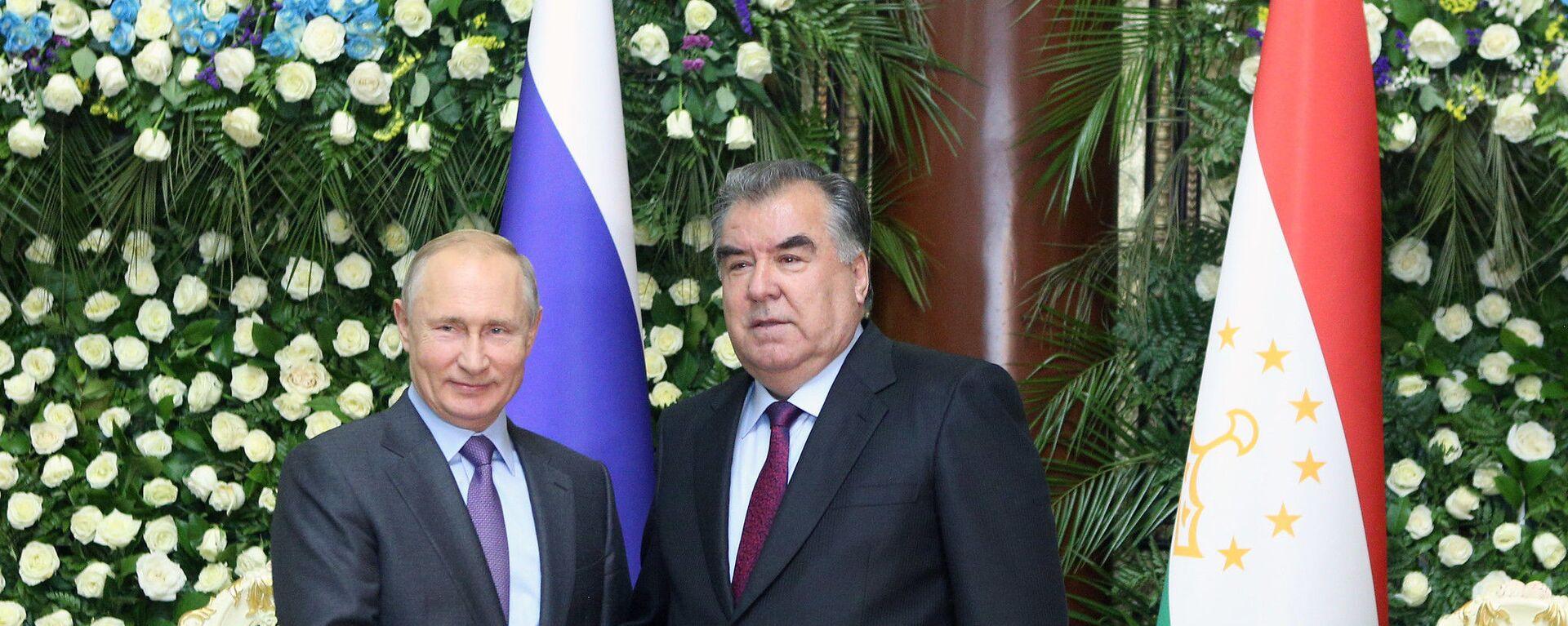 Рабочий визит президента РФ В. Путина в Таджикистан для участия в СВМДА - Sputnik Таджикистан, 1920, 08.09.2021