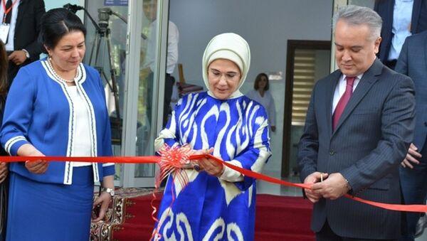 Супруга Президента Турции открыла в Душанбе Центр реабилитации инвалидов - Sputnik Тоҷикистон