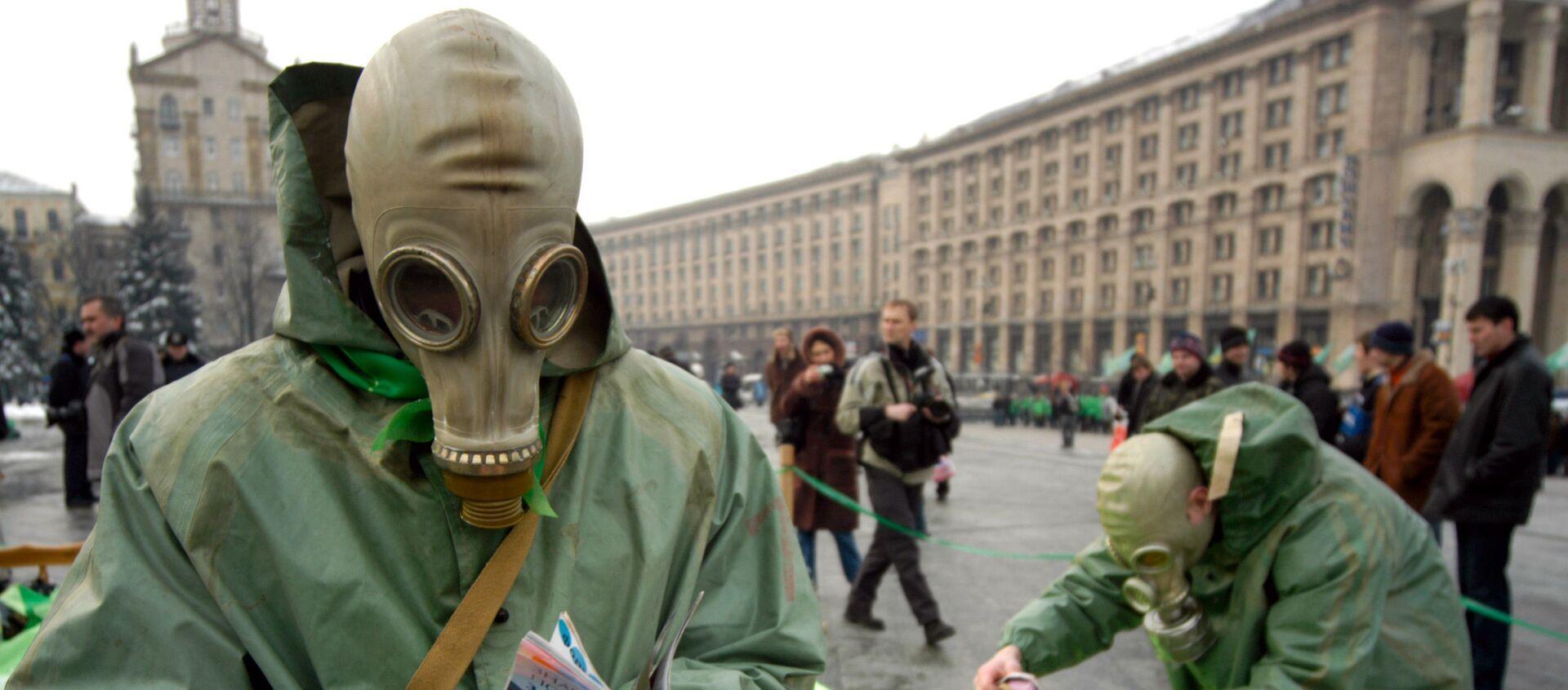 Протесты против строительства ядерного хранилища. Киев, Украина. 3 марта 2006  - Sputnik Таджикистан, 1920, 17.06.2019