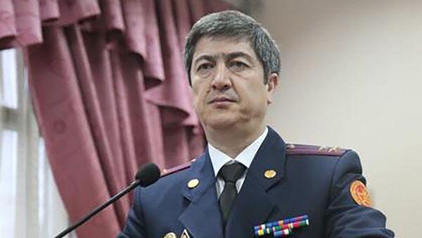Начальник Управления по Согдийской области Сангинзода Мирзоравшан - Sputnik Тоҷикистон