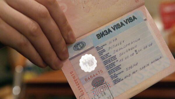 Виза в паспорте - Sputnik Таджикистан