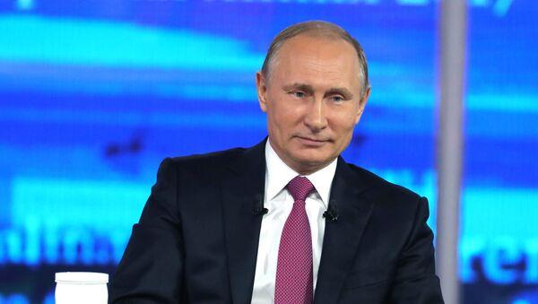 LIVE_СПУТНИК: Прямая линия с Владимиром Путиным - Sputnik Тоҷикистон