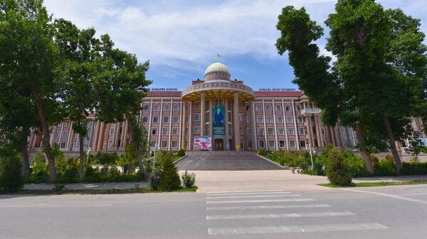 Государственный университет города Дангара - Sputnik Таджикистан