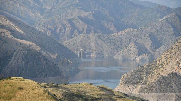 Нурекское водохранилище в Таджикистане - Sputnik Таджикистан