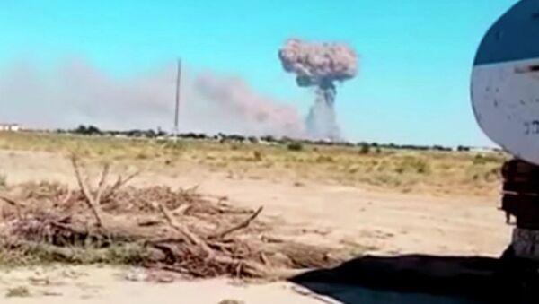 Чрезвычайная ситуация объявлена в Туркестанской области после взрывов - Sputnik Таджикистан