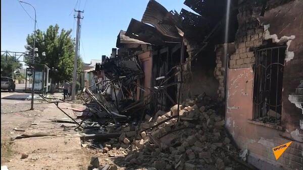 Здания разрушены, город эвакуирован: последствия взрывов в Арыси - Sputnik Тоҷикистон