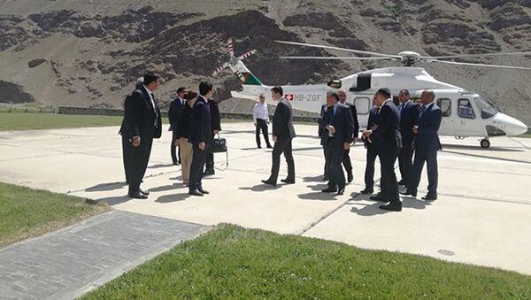Принц Али Мухаммад Ага Хан в Хороге - Sputnik Таджикистан