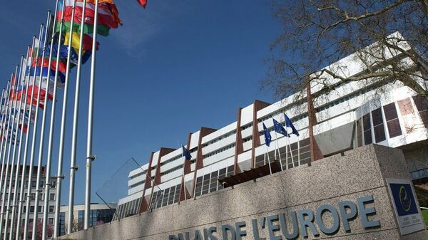 Здание ПАСЕ в Страсбурге - Sputnik Таджикистан