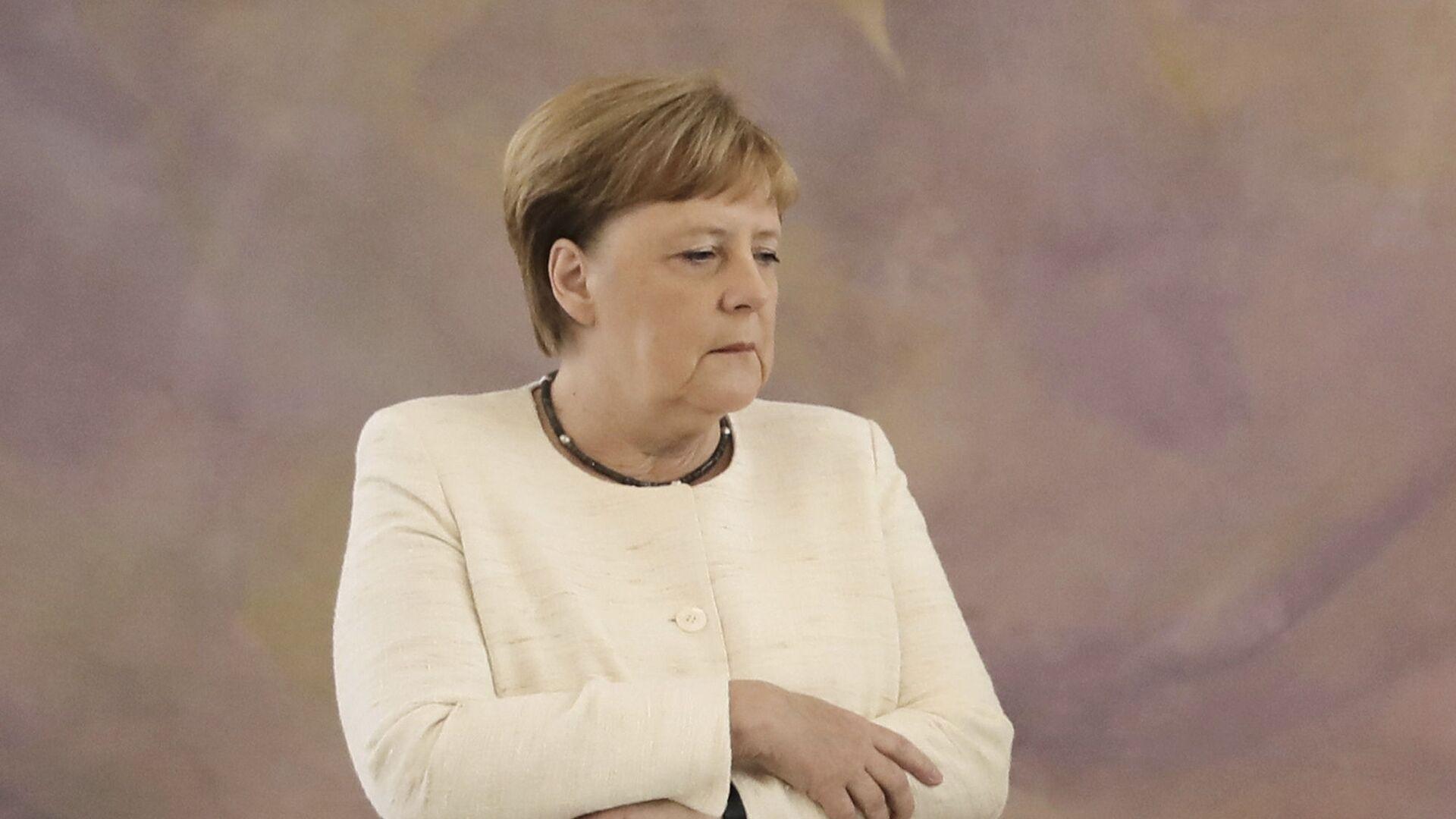 Канцлер Ангела Меркель - Sputnik Таджикистан, 1920, 26.09.2021
