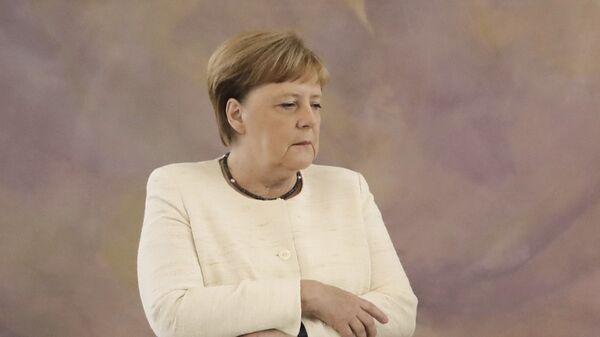 Канцлер Ангела Меркель - Sputnik Таджикистан