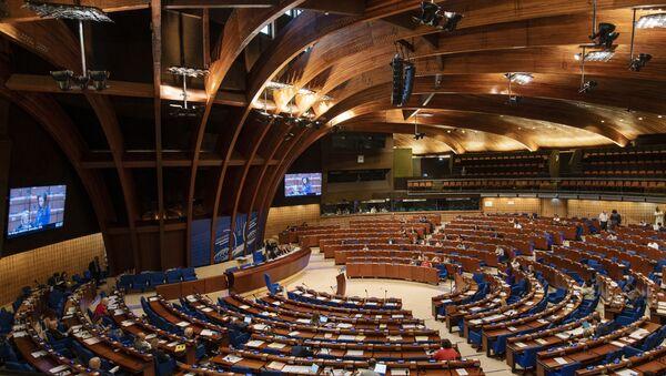 Зал заседаний Парламентской ассамблеи Совета Европы (ПАСЕ) - Sputnik Тоҷикистон