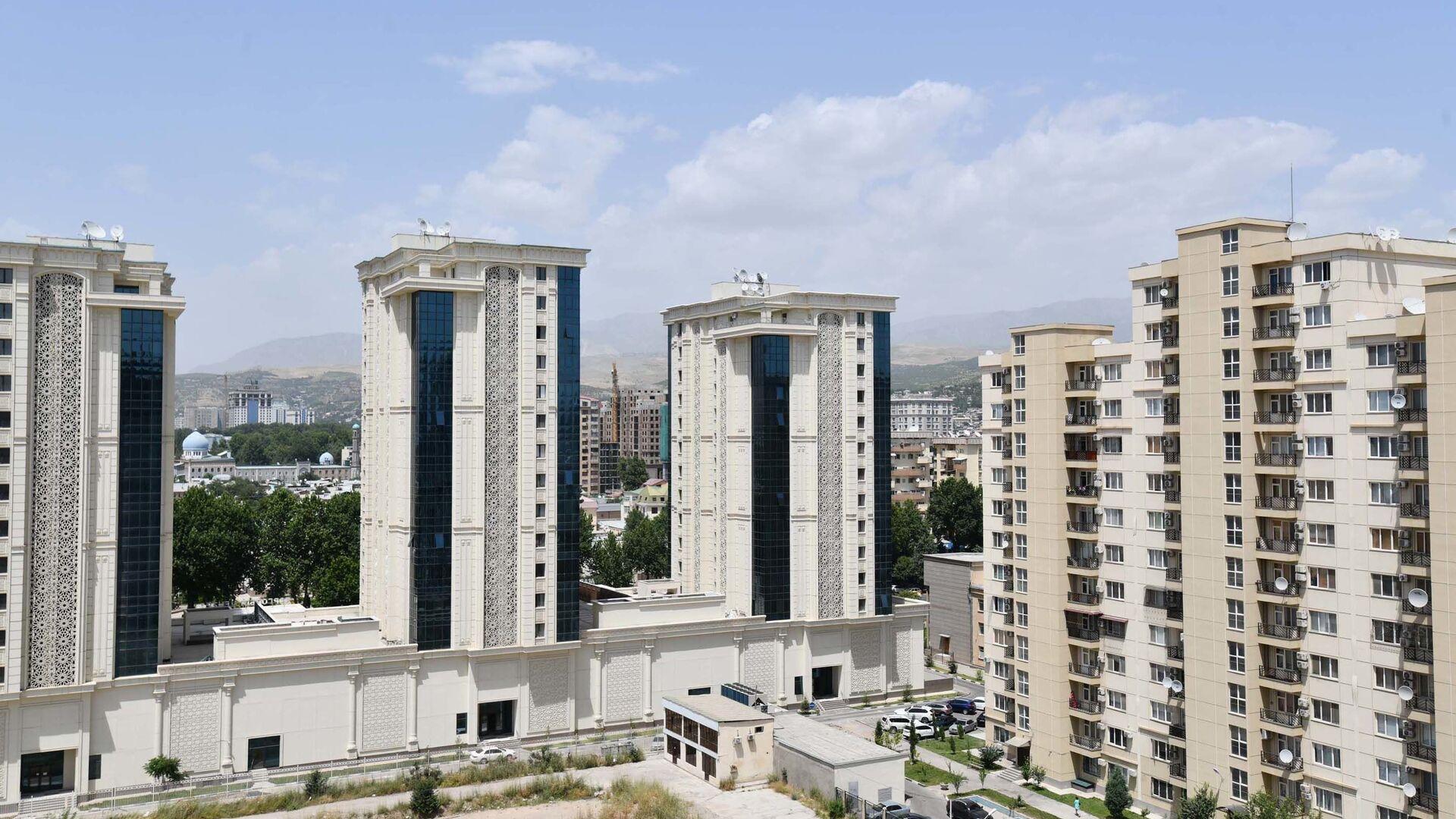 Новые жилые дома в Душанбе - Sputnik Таджикистан, 1920, 20.04.2021
