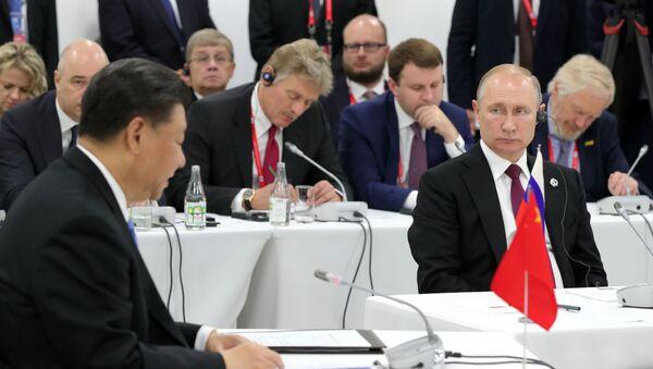 Рабочий визит президента РФ В. Путина в Японию для участия в саммите Группы двадцати - Sputnik Таджикистан